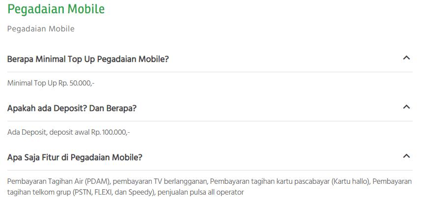 Cara Aktivasi Pegadaian Mobile Online Terbaru